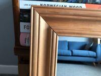 Farmhouse pine mirror 50x76cm