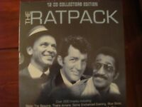 THE RATPACK 12 CD Boxed Set in sealed packaging
