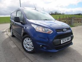FORD TRANSIT CONNECT 1.6 220 TREND P/V CREW CAB 94 BHP 6 Month RAC Parst & Labour Warranty Years MOT