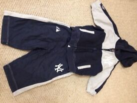 Boys tracksuit age 3-6 months
