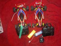 TEAM KYOSHO RADIO CONTROLLED 2 CARS
