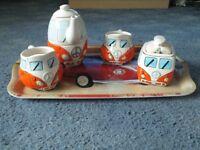 Campervan tea set