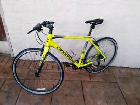 Cannondale quick hybrid mountain bike