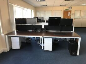 Office Workstation - seats 4 people each 3 available