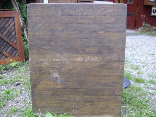 Bistro/Gartentisch Platte vermutlich Tropenholz - wetterbeständig in ...