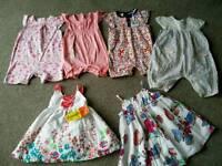 0-3m girl bundle, all new