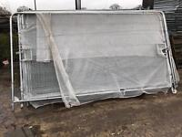 Heras Style Vehicle Access Gates X 2