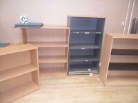 Wood Effect Bookcase / Bookshelf - 20 Available