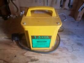 Compact 110v transformer