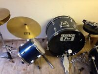 Full Drum Pro Kit and accessories