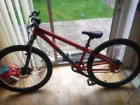 Mongoose fireline dirt jump bike