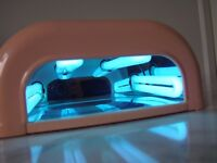The edge UV nail lamp (Fully working with bulbs)