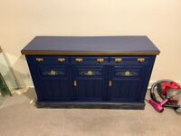 A Lovely Vintage Professionally Painted Sideboard - Can Deliver