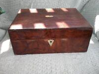 NICE OLD INLAID BOX.