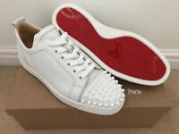 Christian louboutin junior calf spikes 9.5 10.5