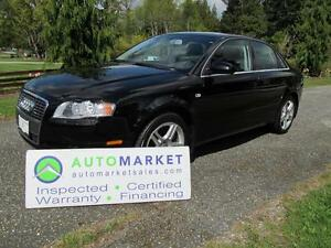 2006 Audi A4 2.0T, QUATTRO, LOADED, INSP, WARR