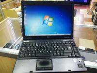 CHEAP COMPAQ NC6400 LAPTOP/WINDOWS 7/ 2.50GB RAM/ MS OFFICE / DVD DRIVE. 14.1