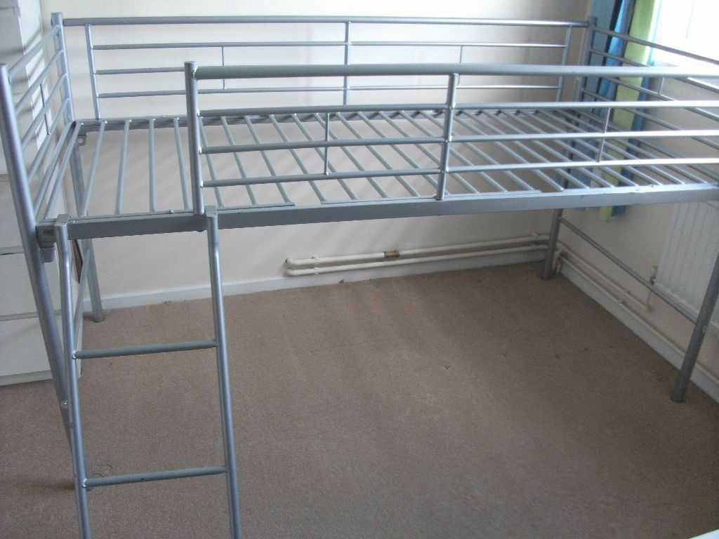 Single metal mid sleeper cabin bed | in Camberley, Surrey | Gumtree