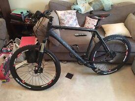 "Cube LTD PRO 22"" Matt Black Mountain Bike"