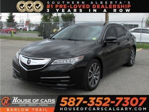 2016 Acura TLX Tech / Navi / Leather / Sunroof / Bluetooth