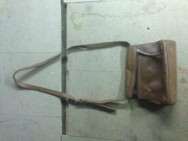 Next tan leather bag satchel