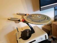 Star Trek ENTERPRISE-C model Starship