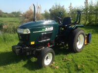 Shire 320 tractor, flail mower, 2 rollers, post hole borer & 2 augers. £5950
