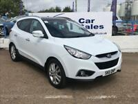 HYUNDAI IX35 2.0 PREMIUM CRDI 4WD 5d 134 BHP A GREAT EXAMPLE INSIDE AND OUT (white) 2011
