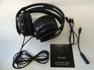 Plantronics RIG 400 Over-Ear Noise Cancelling Gaming Headset - Black