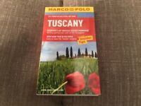 Marco Polo Tuscany guide book with road Atlas/pull out Map - as new, unused
