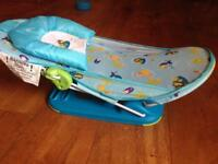 Baby bath support , excellent condition