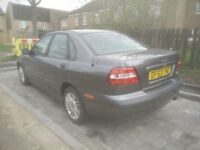volvo s40 s grey, great bodywork and drive,decided to keep other car,!!!BARGAIN FOR PRICE!!!