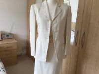 Episode , cream ladies suit. Size 10.