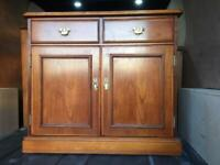 Solid Teak vintage retro 60's/70's sideboard/drawers/dresser/cupboard/by 'Younger' (FREE DELIVERY)