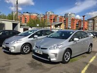 PCO CARS FOR HIRE PCO RENT UBER READY NEW TOYOTA PRIUS 2016 Plate From Only £180 per Week