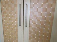 lattice front wardrobe