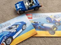 Lego Creator Blue Roadster (6913)