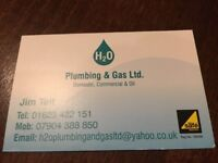 H2O Plumbing and Gas Ltd. Mansfield Nottighamshire