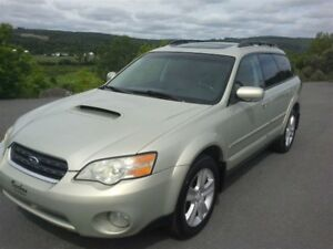 2006 Subaru Outback 2.5 XT TURBO,CUIR, TOIT PANORAMIQUE ETC