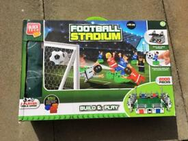 Lego style football stadium brand new