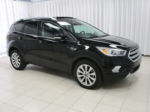2017 Ford Escape TITANIUM 4WD SUV w/ HEATED SEATS AND STEERING W