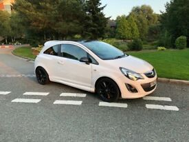 2013 Vauxhall Corsa D Limited Edition 1.2 White