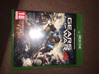 Gears of war 4 brand new never used