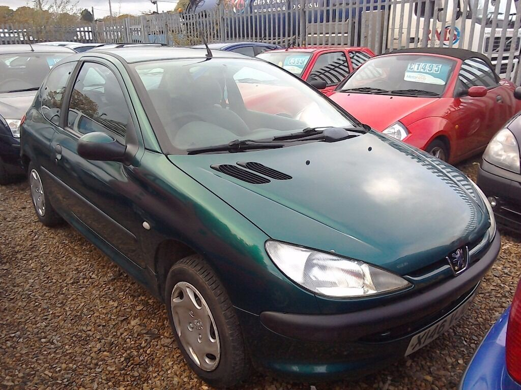 PEUGEOT 206 DIESEL 70K ONLY, FULL SERVICE HISTORY, LONG MOT, NEW BATTERY , EX COND £575 ONO PX POSS