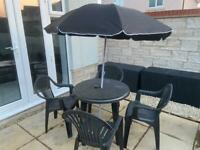 Garden furniture set - perfect now summers here 🌞🌞🌞🌞