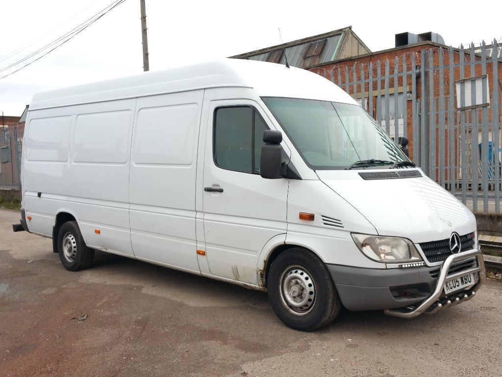 2005 mercedes sprinter 316 cdi lwb 2 7 5 cylinder 160 bhp very powerful like 313 cdi 315 cdi 318. Black Bedroom Furniture Sets. Home Design Ideas