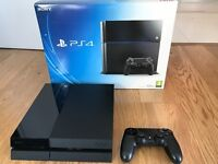 PS4 Playstation 4 500GB Jet Black - Ideal Christmas present