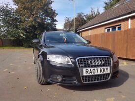 Audi a4 s line black 07 2.L TDI