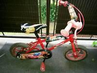Boys Bike 3+ age