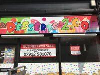 Dessert shop (stoke town centre)